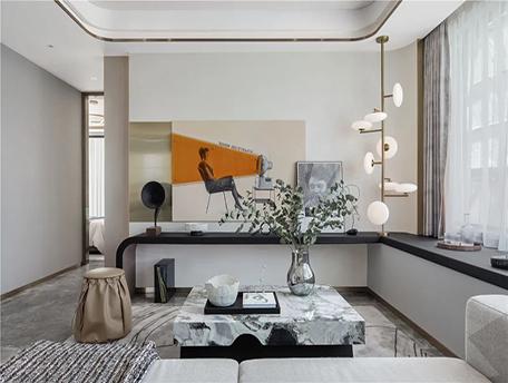 轻奢丨奢雅空间,描绘都市新贵新生活。